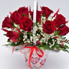 корзинка с розами красными_3