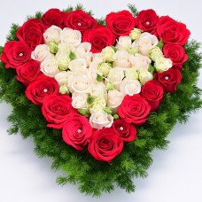 сердце с розами2